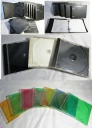 80 Capinhas Caixa Acrílica Para Cd/dvd