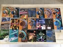 Livros de 1º e 2º ano do ensino médio