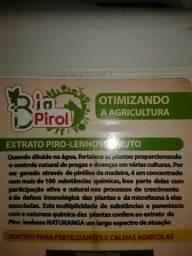EXTRATO PIROLENHOSO - Adubação FOLIAR Orgânica