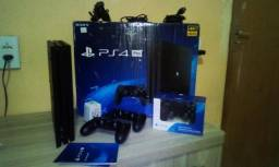 Console PlayStation 4 PRO 1TB + 1 Controle + GTA V (M. Digital)