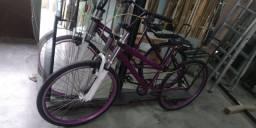 Bike aro 26 de barbada com amortecedor 2 andar zoom gorda