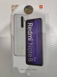 Chegou! Redmi note 8 Pro 128 GB. Novo lacrado com garantia e entrega imediata