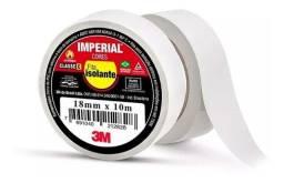 Fita isolante 3M branca, 18 mm x 10 m, Imperial