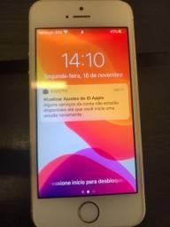 IPhone SE , 32gb, Touch Id, dourado, Bateria 85% - Usado