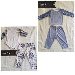 Lote de roupas para bebê NOVAS