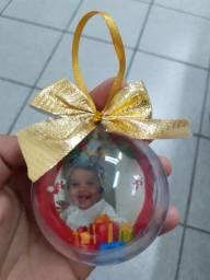 Bolinha  de Natal personalizada