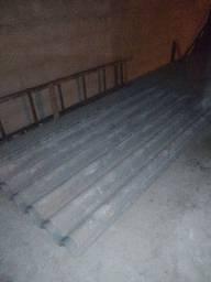 Vendo 9 telhas de amianto 2,44 por 1,10