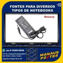 Fonte do Notebook Itautec Ponta Padrão com Garantia