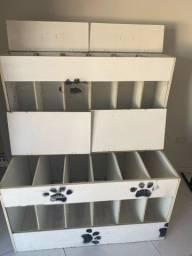 Caixa de rações loja PET
