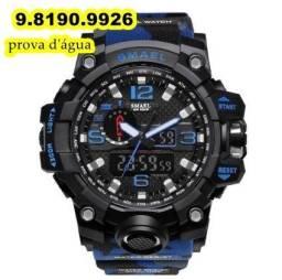 relógio azul marinho casual