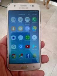 Samsung j5 dourado