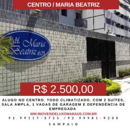 Apartamento no Centro    Climatizado + Sala Ampla