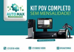 Sistema de caixa Kit PDV Completo S/Mensalidades Em Até 10x S/Juros