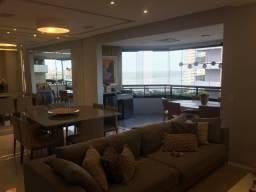 [VA]Porteira Fechada - Apartamento na Península (150m²)/ 3 suítes/ nascente/ andar alto
