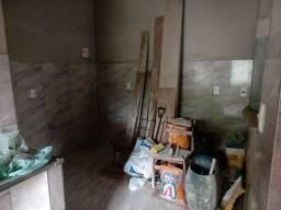 Casa de laje em fase de acabamento