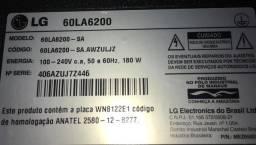 Smart TV LG 60 polegadas 3D, código 60LA6200