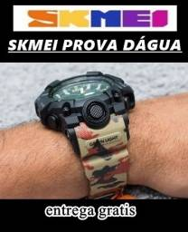 relógio pulseira camuflado