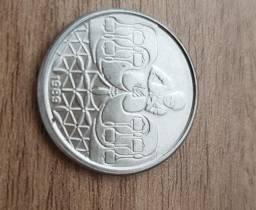 Moeda 50 centavos 1989