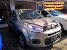 Fiat Uno Vivace 2016 completa _ entrada apartir 8mil + 48x 599,00 fixas