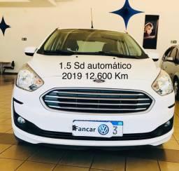 KA SEDAN 1.5 AUTOMÁTICO 2019 12.600km