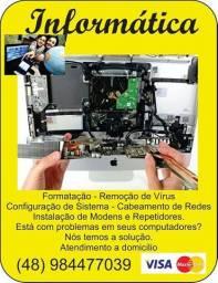 Assistência técnica Especializada em Notebook e MacBook