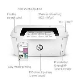 Impressora HP LaserJet Pro M15w - Wi-Fi - Sem Fio