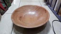 Gamela em madeira de lei (angelin pedra)