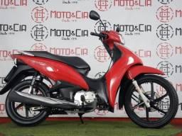 Honda Biz 125 2018 2018 Vermelha
