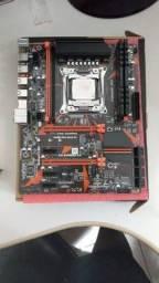 Kit placa mãe e processador 2620v3