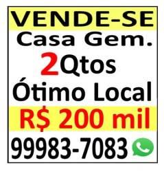 Casa - Oportunidade - Santa Branca - R$ 200.000,00