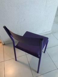 Cadeira padrão Alumínio Roxa