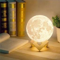 Luminária em formato de Lua Cheia !