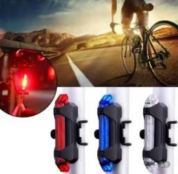 Lanterna sinalizadora traseira para bicicleta a pronta entrega