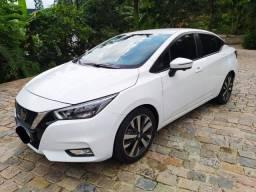 Versa Exclusive 1.6 16V Flex Aut. 2021 top, carro com apenas 720 km! Zero, sem detalhes