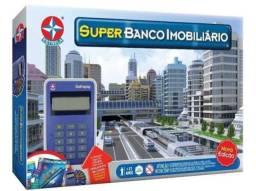 Jogo Super Banco Imobiliário Nova Edição 100% Original Estrela Novo Lacrado!!!