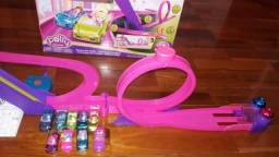 Pista de Carrinhos Polly Pocket