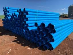 Título do anúncio: Canos PVC Amanco para Irrigação 200 mm