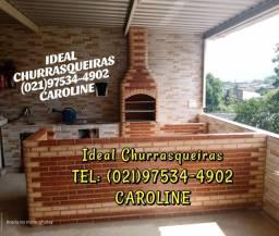 Churrasqueira e telhado Colonial / Mês dos namorados!!!!