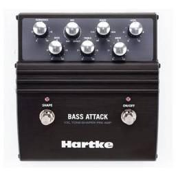 Pedal Bass attack harteck para contra baixo
