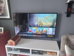 """Tv 50"""" Sansung com tela quebrada internamente"""