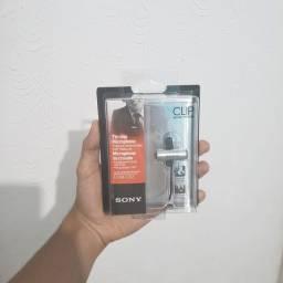 Microfone de Lapela Sony Original Na Caixa Lacrado