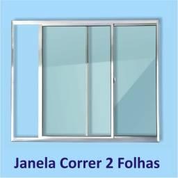 janela de aluminio brilho 0,80 x 0,80