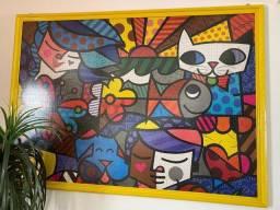 Quadro de quebra cabeça Romero Brito - 5.000 peças
