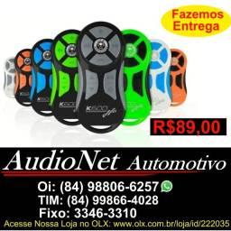 Controle Longa Distância Jfa K600 600m Multimidia Carro Som Radio Dvd