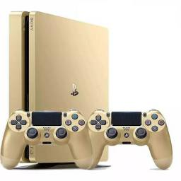 Ps4 Slim Sony 1TB Gold Edition Dourado