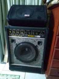 Vendo caixas de som profissional em ótimo estado,vendo somente as duas valor 400,00