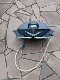 Churrasqueira a gás - Marca Mor - usada