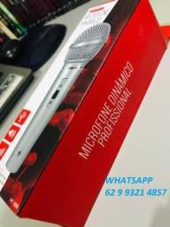Título do anúncio: Microfone Dinamico Profissional Alta Qualidade para Karaoke Cabo 3m e Ganhe Brinde