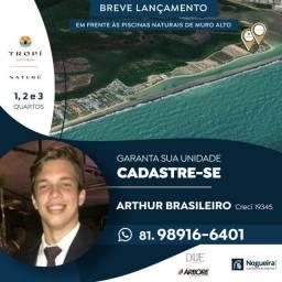Título do anúncio: HAB- Vem aí o melhor projeto Beira mar de Muro Alto nas piscinas naturais
