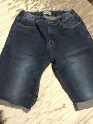 Bermuda Jeans TAM. 14 masculina